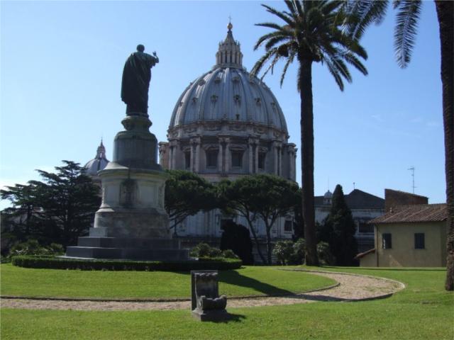 Visitas jardines vaticano visitas guiadas grupo for Jardines vaticanos